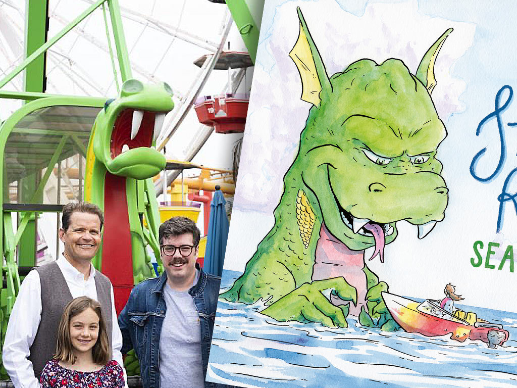 Stella Rose and the Sea Dragon - Pacific Park on the Santa Monica Pier